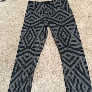 Cropped lululemon pants
